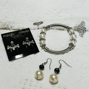 Crystal & Pearl Jewlery Collection